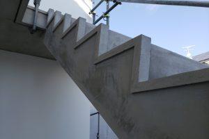 階段ささらボーダーモルタル